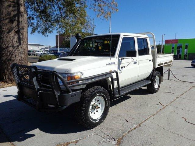 2013 Toyota LANDCRUISER VDJ79R MY13 Workmate Double Cab