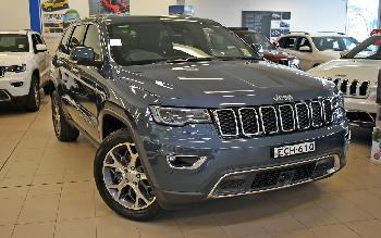 2018 Jeep GRAND CHEROKEE WK Limited