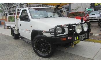 2001 Holden Rodeo TFG6 LX 4X4