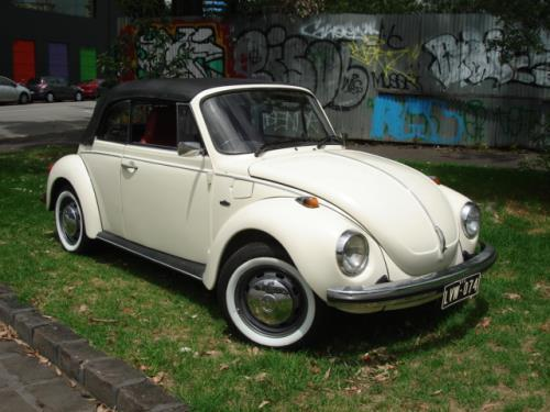 1974 Volkswagen Beetle  Karmann Convertble  Karmann