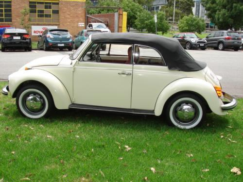 1974 Volkswagen Beetle Karmann Convertble