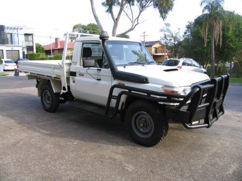 2009 Toyota LANDCRUISER VDJ79R 09 UPGRADE WORKMATE 4X4