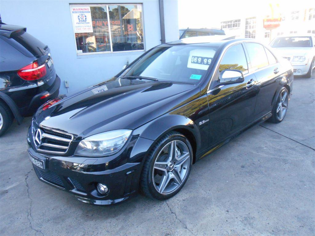 File 2008 Mercedes C63 Amg Flickr The Car 11