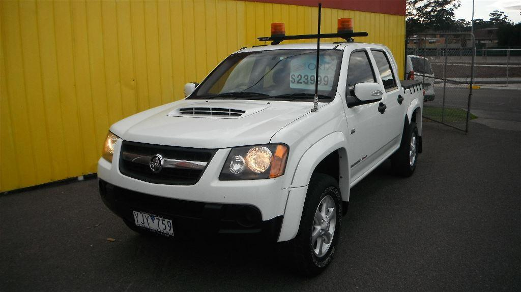2011 Holden Colorado Rc My11 Lx R 4x4