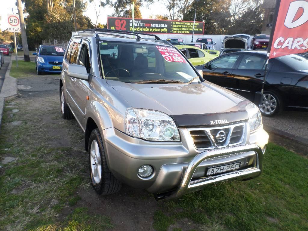 2003 nissan x trail t30 ti 4x4. Black Bedroom Furniture Sets. Home Design Ideas
