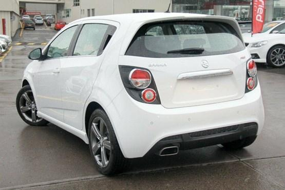 2015 Holden Barina TM RS