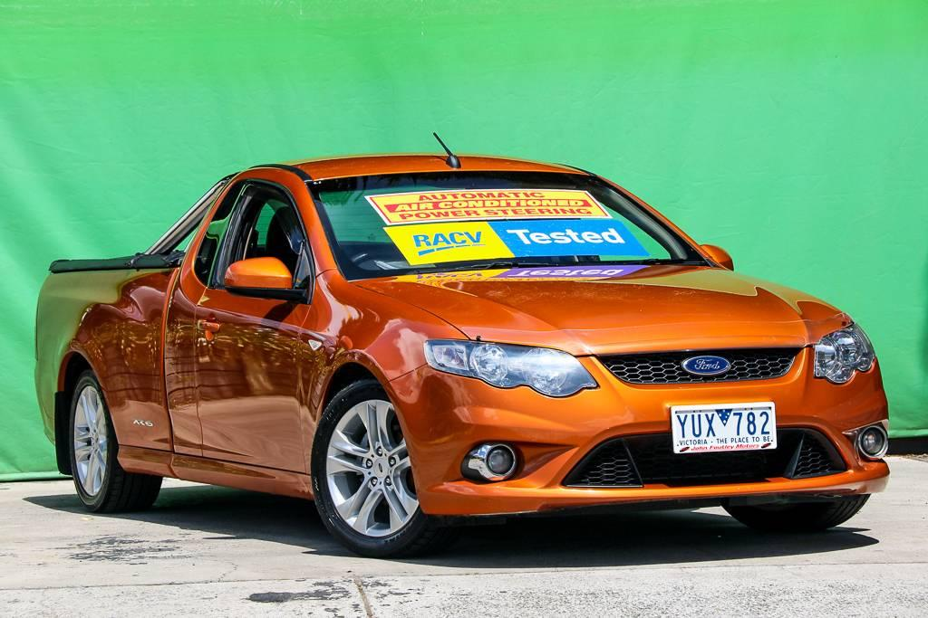 2011 Ford Falcon FG UPGRADE XR6 LIMITED EDITION