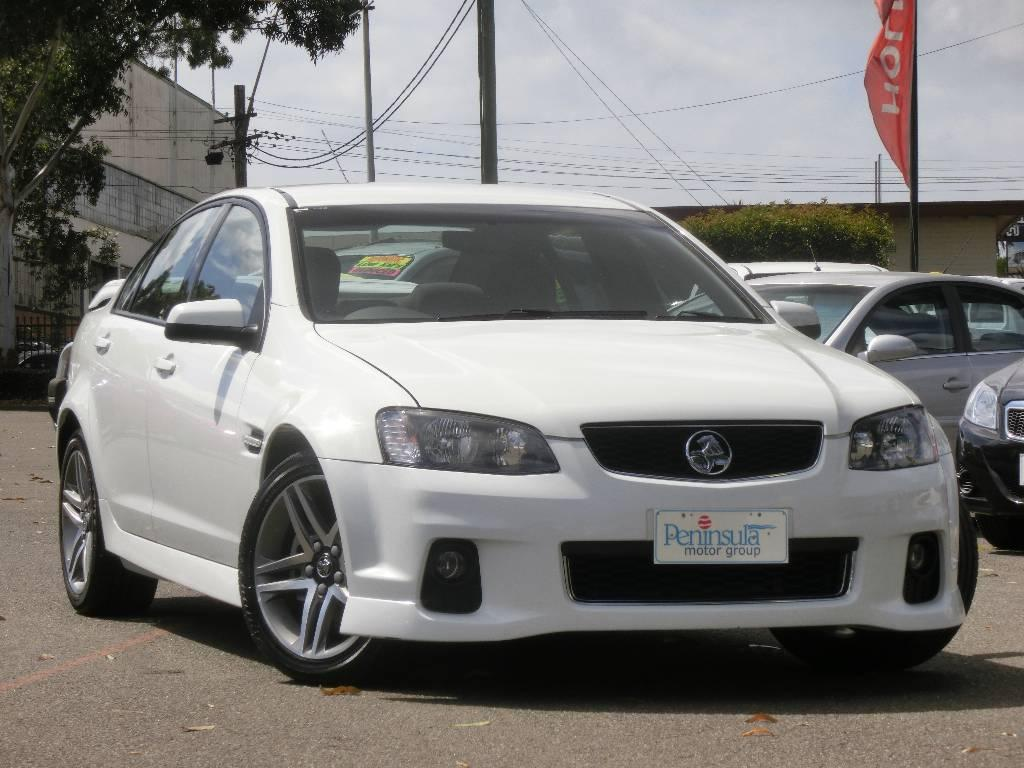 2011 Holden COMMODORE VE II MY12 SV6