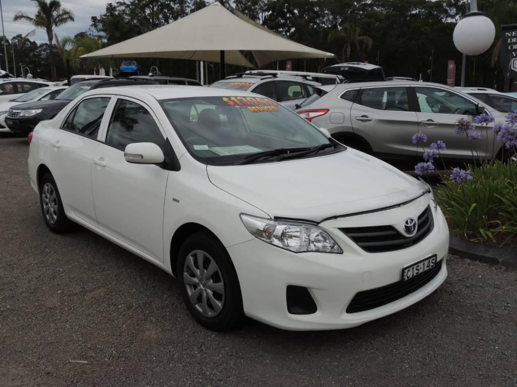 2012 Toyota Corolla Zre152r My11 Ascent