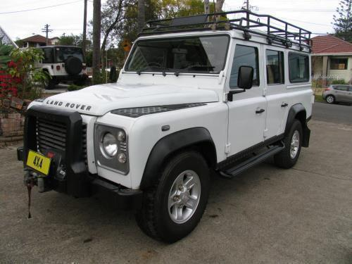 2012 Land Rover DEFENDER MY11 110 LIMITED EDITION (4x4)