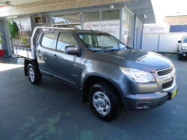 2013 Holden COLORADO RG LX 4X2