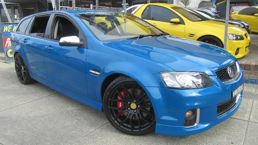 2012 Holden COMMODORE VE II MY12 SS-V REDLINE EDITION