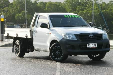 2012 Toyota Hilux TGN16R MY12 WORKMATE