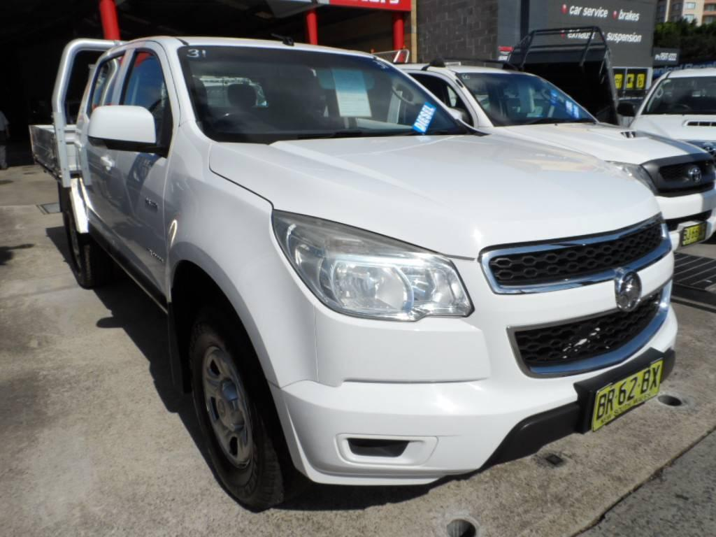 2012 Holden COLORADO RG LX 4X2