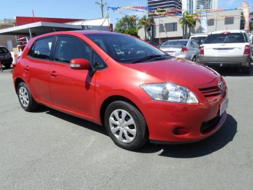 2009 Toyota Corolla ZRE152R MY09 ASCENT