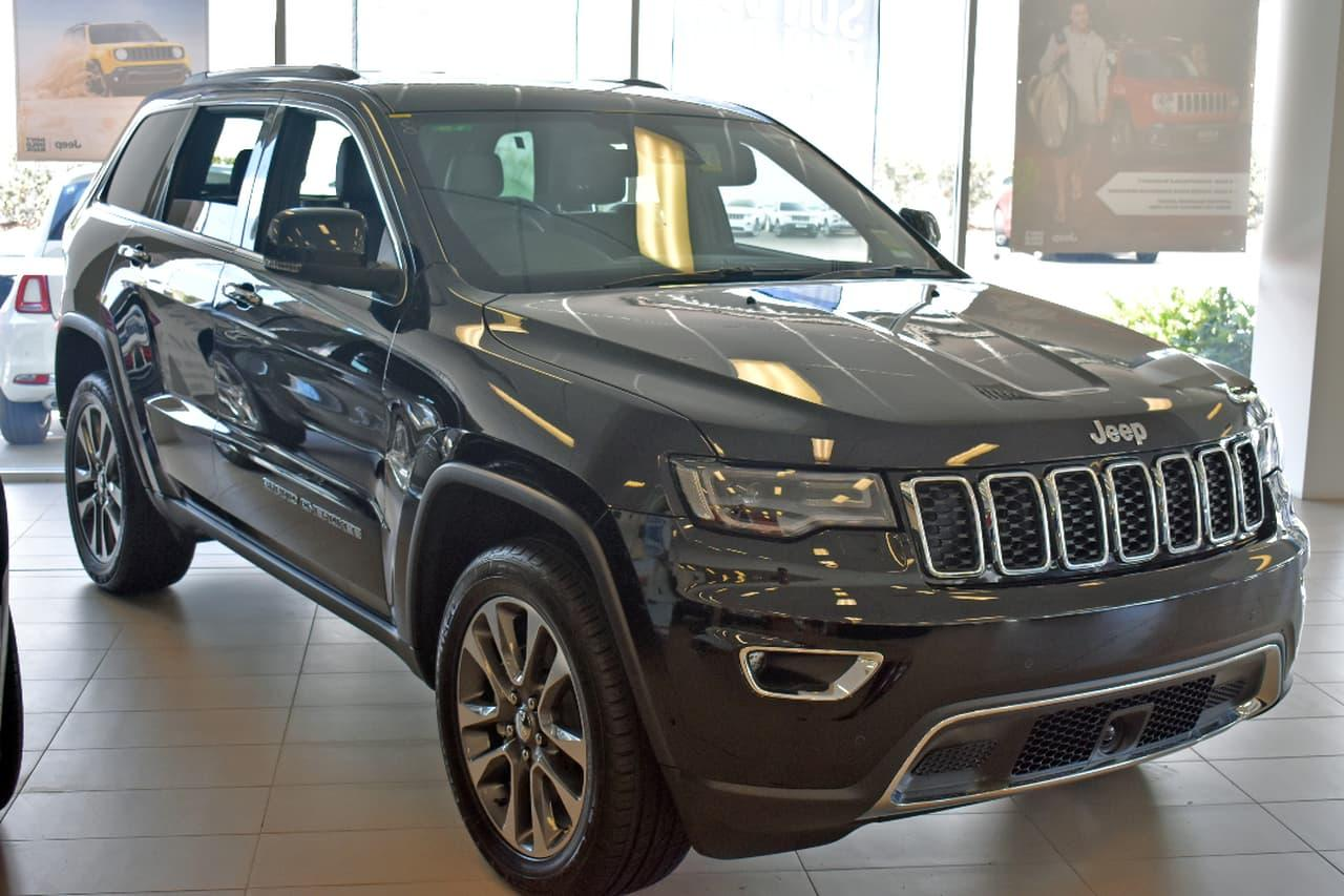 2017 Jeep GRAND CHEROKEE WK Limited