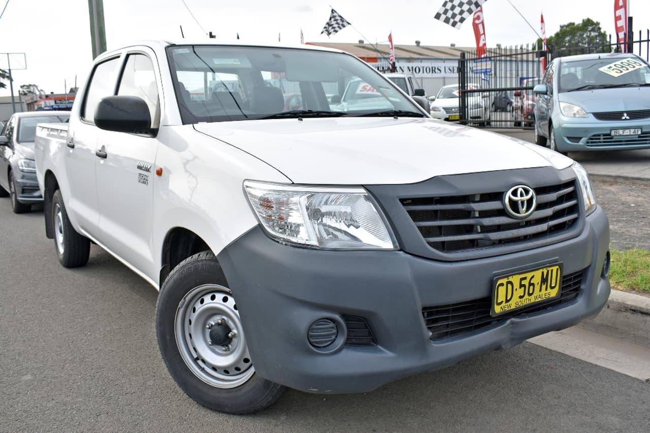 2015 Toyota Hilux TGN16R WORKMATE