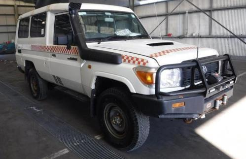 2013 Toyota LANDCRUISER VDJ78R MY12 UPDATE WORKMATE (4X4) 11 SEAT