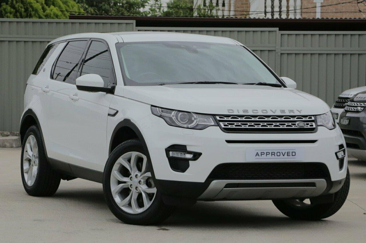2016 Land Rover DISCOVERY SPORT L550