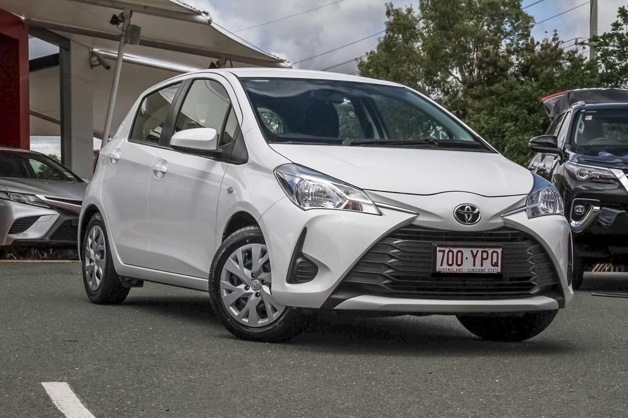 2017 Toyota Yaris NCP130R Ascent