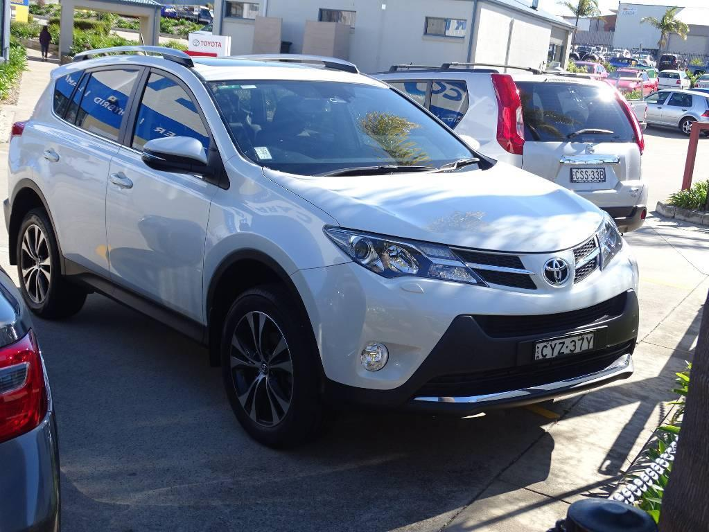 2015 Toyota RAV4 ASA44R MY14 UPGRADE CRUISER 4X4