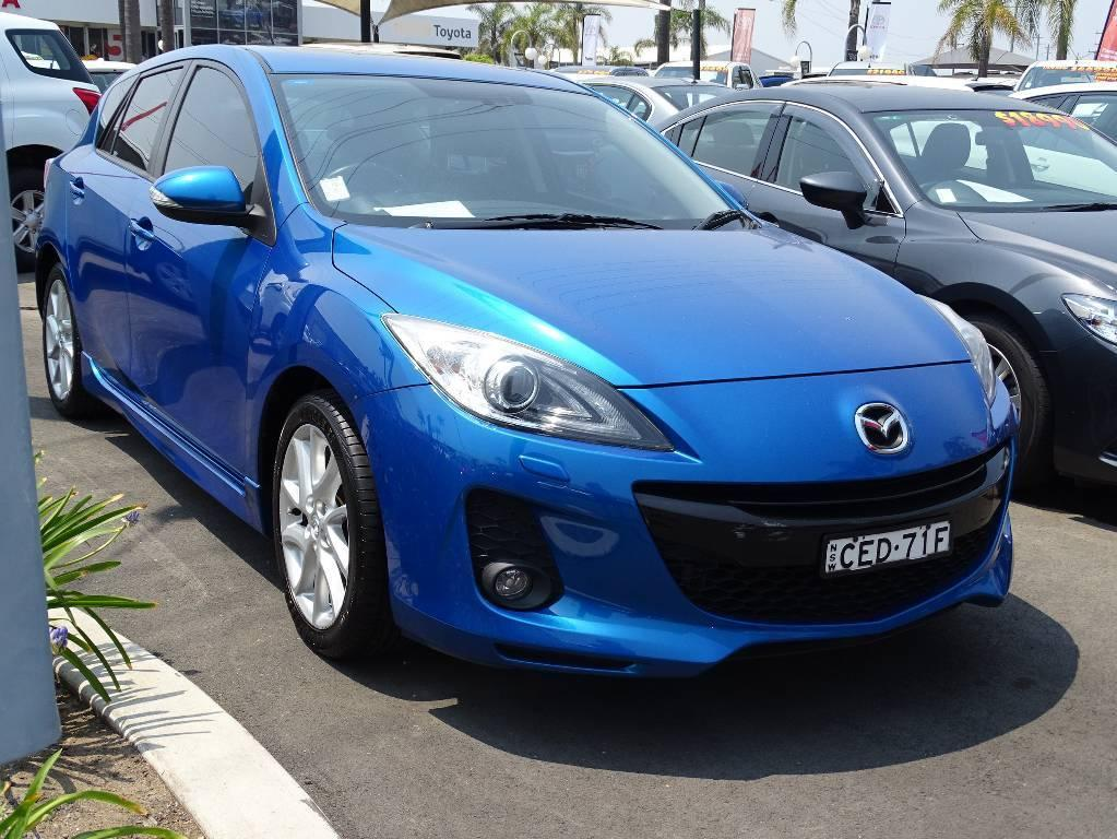 2011 Mazda MAZDA3 BL 11 UPGRADE SP25