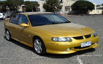 2001 Holden COMMODORE SS VXII