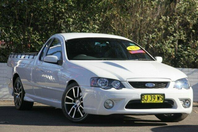 Car Online Auction >> 2008 Ford FALCON UTE BF Mk II XR8 UTE SUPER CAB