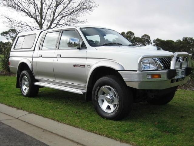Used Car Value By Vin >> 2004 Mitsubishi Triton MK MY04 GLS DOUBLE CAB