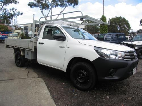 2018 Toyota Hilux TGN16R MY19 WORKMATE