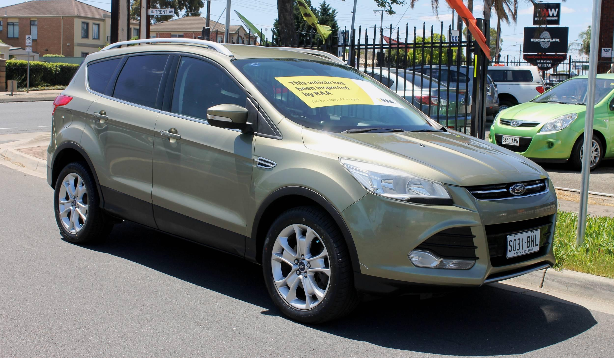 2013 Ford KUGA TF Trend AWD