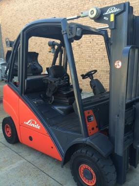 2003 Linde H25T-4715MM MAXIMUM LIFT